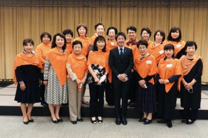 和歌山商工会議所女性会集合写真