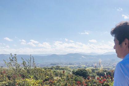 高台から見る景色